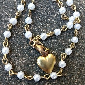 Jewelry - 3/$15 Double strand locket bracelet